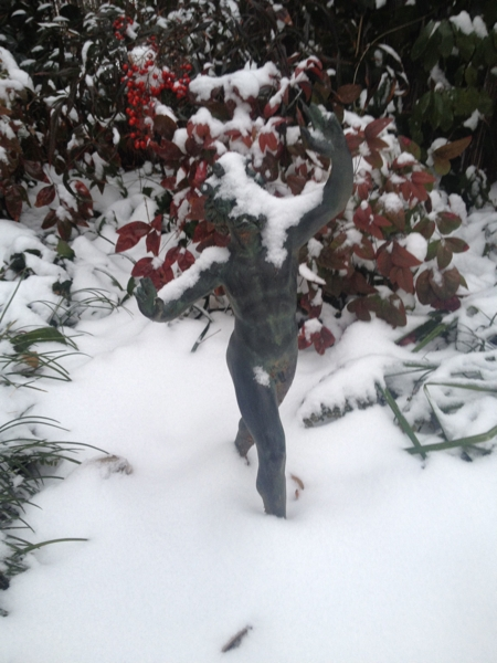 Dionysus in snow